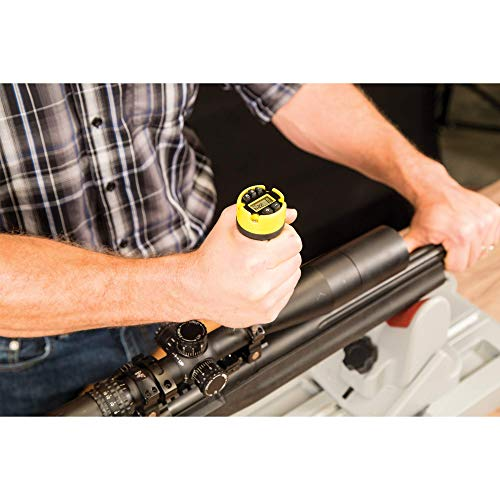 Wheeler Digital Firearms Accurizing Torque Wrench with Interchangeable Bits and LCD Display for Firearm Maintenance and Gunsmithing
