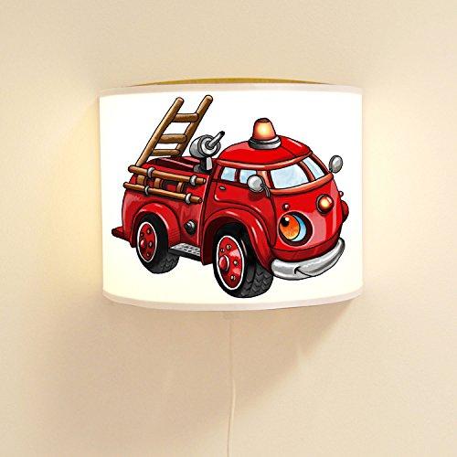 Wandtattoo-welt® ls88 Ilka parey Sticker Mural pour Enfant Motif Pompier