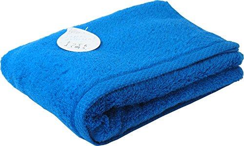 UCHINO バスタオル とってもよく吸う「ごくふわ」 65×130cm ブルーグリーン 8836B711 BG