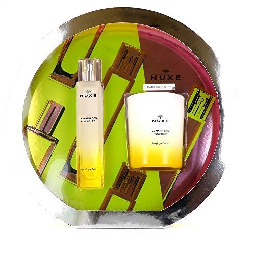 Nuxe Cofanetto Le Matin des Possibles Eau de Parfum 50ml + Candela 140g