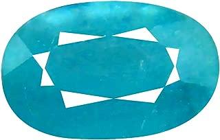 Deluxe Gems 0.92 ct Oval Cut (7 x 5 mm) Unheated/Untreated Greenish Blue Grandidierite Natural Gemstone
