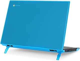"mCover Hard Shell Case for 2018 11.6"" Lenovo 100E Series Chromebook Laptop (NOT Fitting Lenovo 300E Windows & N21 / N22 / N23 / 300E / 500E / Flex 11 Chromebook) (C100E Aqua)"