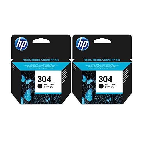 2 cartucce di inchiostro nero HP per stampanti HP Deskjet 3730