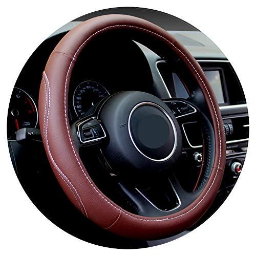 Ablaze Jin Auto Stuur- Wiel Cover Hoge Pu Lederen 7 Kleuren 4 Seizoenen Anti-Slip 38 Cm Stuurwiel Auto Styling