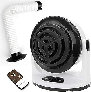 LLVV Calefactores Máquina De Aire Caliente para El Dormitorio, Oficina, Oficina 1000W 220V / 110V Blanco