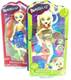 Doll Midnight Beach Magical 2 Puppen, Sashabella Paw & Meygana Broomstick