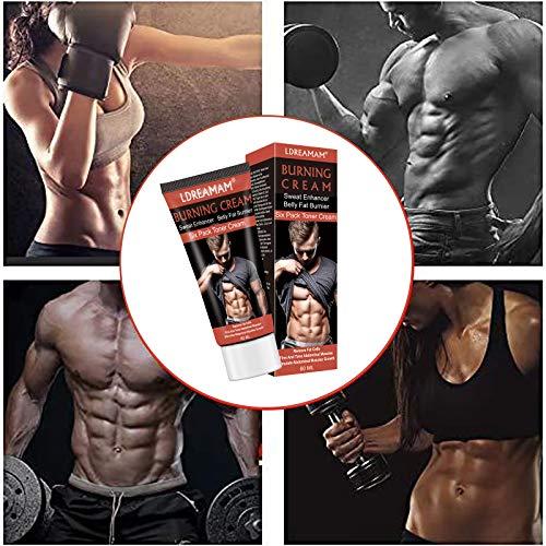 Abdominal cream,Bauchmuskel Creme,Bauch Creme,Anti Cellulite Cream,Bauch für Frauen und Männer Cellulite-Entfernungscreme