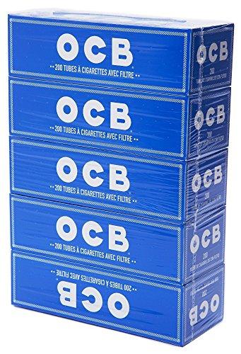 OCB Tubes à Cigarette avec Filtre à bourrer soi-même (lot de 5 )