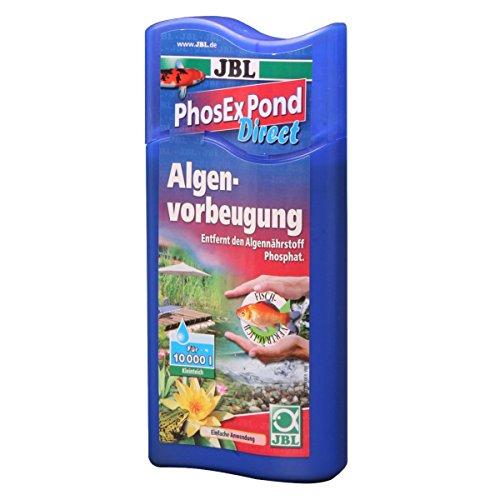 JBL PhosEx Pond Direct 500ml, Éliminateur de phosphates pour bassin