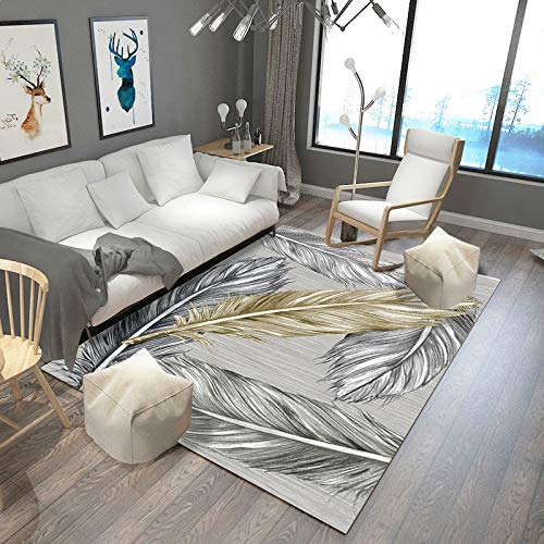 VitaLity Teppich für Schlafzimmer und Wohnzimmer,Rechteckiger Teppich im nordischen Stil,Antirutschmatte für Teppich 180cmX280cm