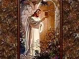 Jesus is Knocking at The Door, Jesus Christ, Religion, Vintage, Souvenir Magnet 2 x 3 Photo Fridge Magnet