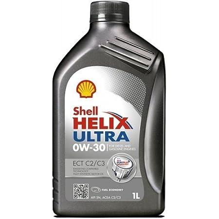 Shell Helix Ultra Ect C2 C3 0w 30 Engine Oil 1 Litre Auto