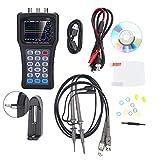 Osciloscopio digital, JDS6052S Generador de señal de osciloscopio digital portátil de 2 canales multifunción 2 en 1 25 MHz(Enchufe de la UE)