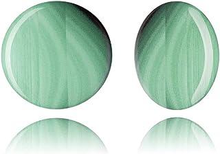 Verde Esmeralda Pendientes de Clip Alta Moda Joyas Regalo