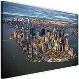 Feeby Leinwandbild XXL New York City Wandbild Kunst