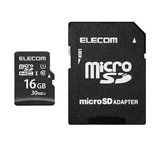 エレコム SDHCカード 16GB UHS-I Class10 MF-MSD016GU11LR