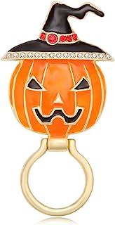 Pumpkin Badges Brooches Coat Jacket Lapel Pins Jewelry Gift for Women Men #K