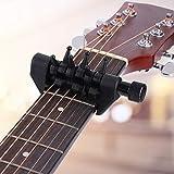 Capotasto per chitarra acustica, cambio rapido, capotasto per accordatura corde
