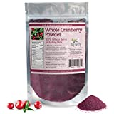 Cranberry Powder, Unsweetened, Not Made From Juice But From Whole Cranberries, 4oz, Pure & Simple, 1g Natural Sugar Per Serving, Woman-Owned, Small Business
