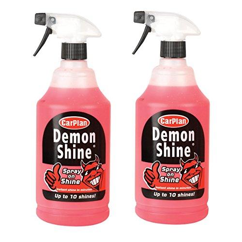 2x CARPLAN Demon Demon Shine 1L