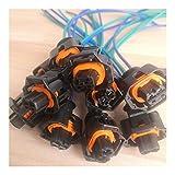 wuyou Cables Enchufe Alimentación 5/10/20 / 50pcs 2 Pin/Vía Rail Conector...