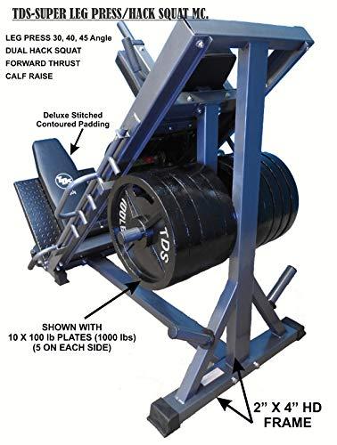 4-Way Hip Sled to use as Leg Press, HACK Squat