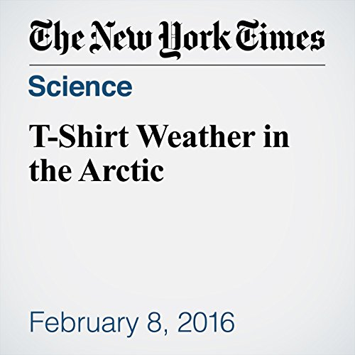 T-Shirt Weather in the Arctic audiobook cover art
