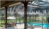 ExclusivoCIR Difusor de Agua para terraza o jardín con Manguera de 10 Metros