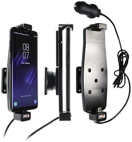 Support voiture avec adaptateur allume-cigare et cable USB pour Samsung Galaxy S8/S9 sans étui