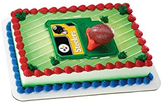 NFL Pittsburgh STEELERS Cupcake Cake Decoration Toppers Decoration