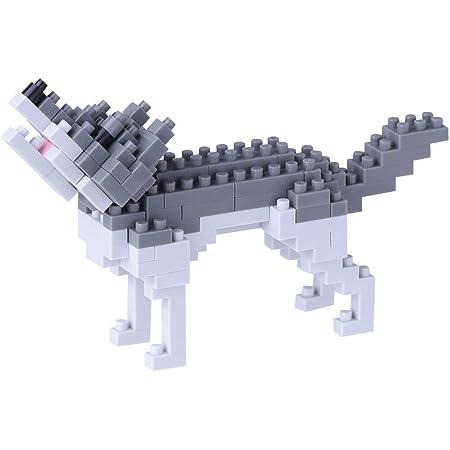 ナノブロック オオカミ NBC_144