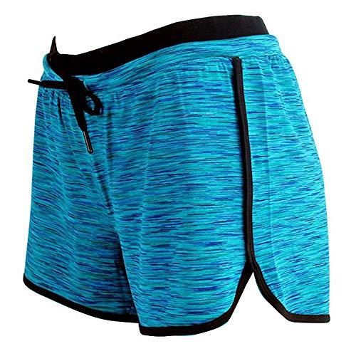 BIBOKAOKE Herren Kurze Hose Freizeit Shorts Mode Yoga Gym Sport Shorts Comfort AtmungsaktiveClassics Outdoor Hose Slim Fit Sommer Beachshortsfür Fitness Workout Training mit Kordel