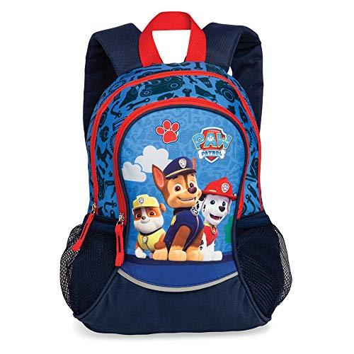 Disney Fabrizio 20562 Kinder Jungen Rucksack 'Paw Patrol' aus Textilmaterial Motiv, Blau, S