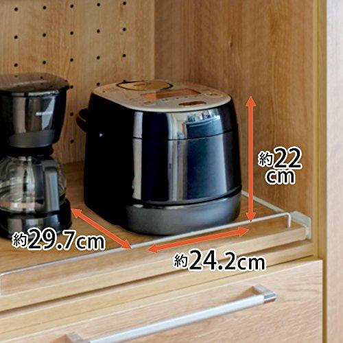 アイリスオーヤマ炊飯器IH式3合分離式銘柄炊き分け機能付きRC-SA30-B