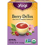 Yogi Tea - Berry DeTox (6 Pack) - Healthy Antioxidant Blend - 96 Tea Bags