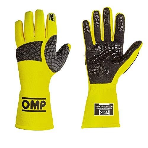 OMP OMPIB/758/GF/XL Guantes Pro Mech Fluo Amarillo Talla XL Homologué Fia