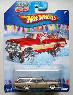 Hot Wheels 2009 Holiday Rods #1/6 - Maroon/Gold Custom '66 GTO Wagon