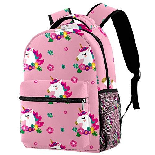 Mochila de verano con diseño de mariposas para adolescentes, libros escolares, viajes, mochila informal