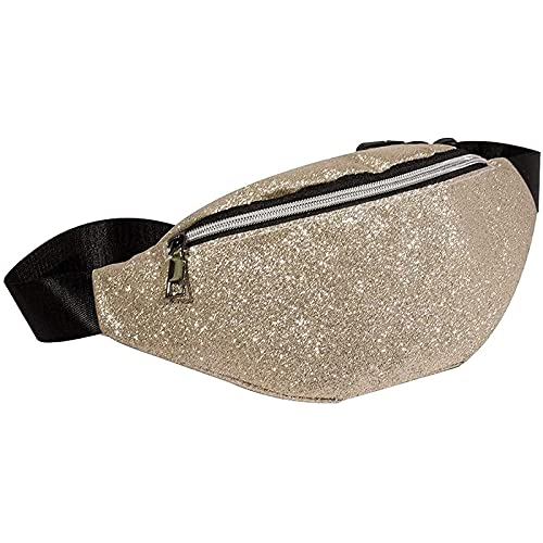 Lzadrv Powder Brass Holográfica Divertida Bolsa Señora Tomando la Pendiente del Pecho con la Bolsa de Hombro del Bolsillo para Las señoras