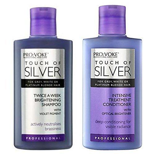 """""""Touch of Silver"""" Aufhell-Shampoo und intensive Haarspülung, 150ml"""