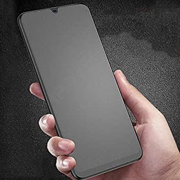 Clear Black WanShiHengTong Screen GGR 25 PCS MIETUBL for Galaxy A50 Anti-Glare Full Screen Tempered Glass Film Color : Black