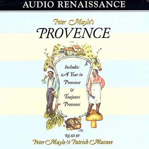 A Year in Provence audiobook cover art
