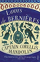 book cover of Captain Corelli's Mandolin, books set in another country