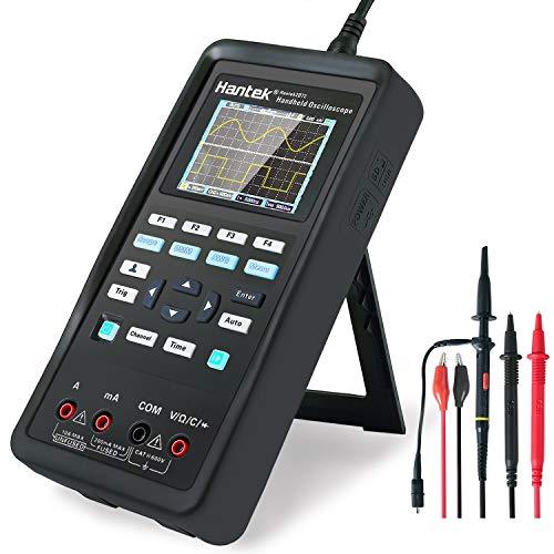 osciloscopio Digital + generador de formas de onda + multímetro portátil USB 2 canales prueba de pantalla LCD medidor de herramientas(70 MHz + 2CH + DMM +AFG)