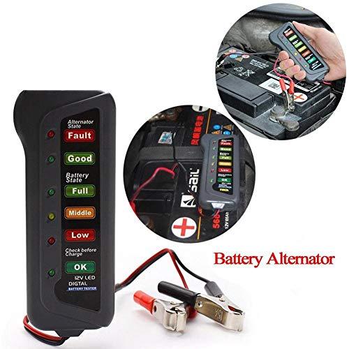 Discover Bargain NO-LOGO Hf-Accessories Battery Tester 12V Battery Tester Portable Car Battery Teste...