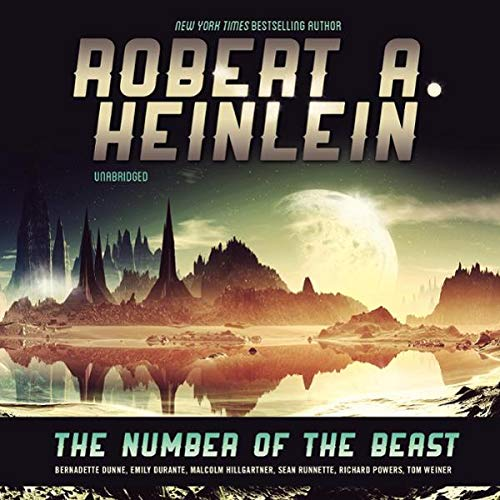 The Number of the Beast audiobook cover art