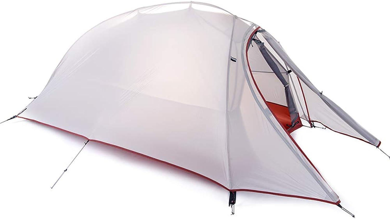 AX-outdoor AX-outdoor AX-outdoor products Zelt-Einzelne kampierende Überdachung tragbares im Freien Doppeltes Wasserdichtes Markisenpolyester-Tuch-Silikonüberzug hellgraue Farbe 230  110  100cm B07JL82M7Y  Sonderpreis 7dccdd