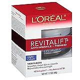 L'Oreal Paris, RevitaLift Anti-Wrinkle + Firming Night Cream Moisturizer 1.7 oz (Pack of 3)