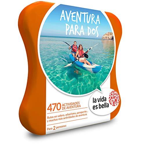 470 experiencias de aventura como parapente, surf, kayak y más 1 actividad de aventura para 2 personas VALIDEZ DE 2 AÑOS RENOVABLE. CAMBIO ONLINE GRATUITO E ILIMITADO FÁCIL Y RÁPIDO. ¡REGALA LA CAJA MÁS SMART! *LA SELECCIÓN MÁS AMPLIA - Más de 111.00...