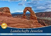 Landschafts Juwelen - Erlesene Landschaften der USA (Wandkalender 2022 DIN A2 quer): Entdecken Sie die unberuehrte und atemberaubende Landschaften des amerikanischen Suedwestens (Monatskalender, 14 Seiten )